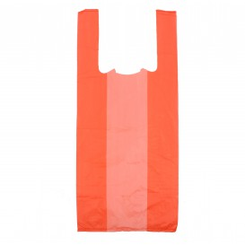 Bolsa Plastico Camiseta 35x50cm Roja (5000 Unidades)