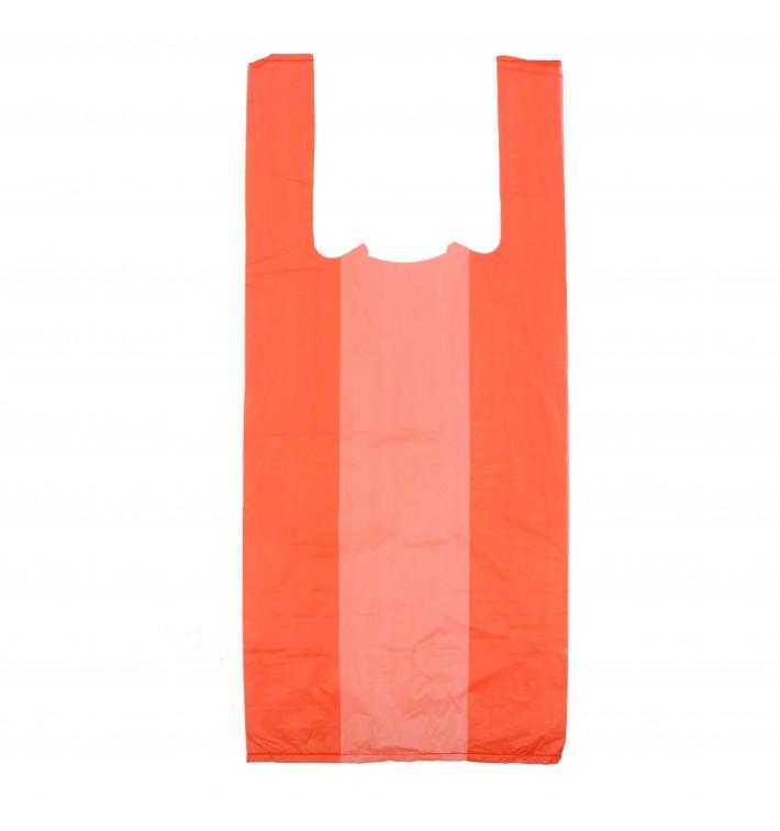 Bolsa Plastico Camiseta 35x50cm Roja (200 Uds)