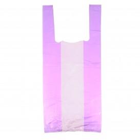 Bolsa Plastico Camiseta 35x50cm Lila (5000 Uds)