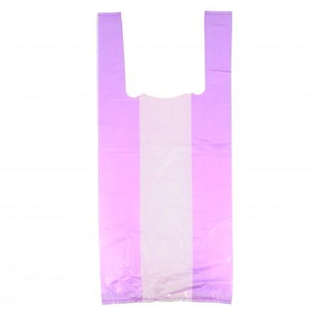 Bolsa Plastico Camiseta 35x50cm Lila (1000 Unidades)