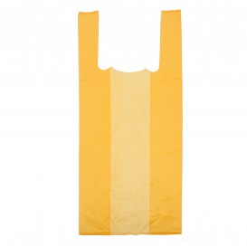 Bolsa Plastico Camiseta 35x50cm Naranja (5000 Uds)