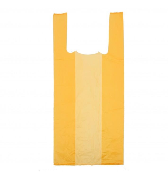 Bolsa Plastico Camiseta 35x50cm Naranja (200 Uds)