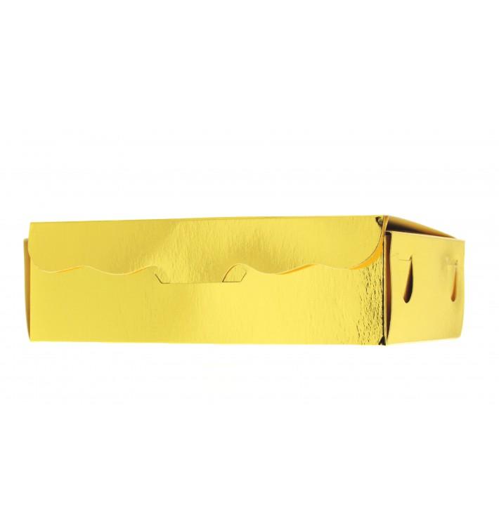 Caja para Dulces y Bombones Oro 11x6,5x2,5cm 100g (1000 Uds)