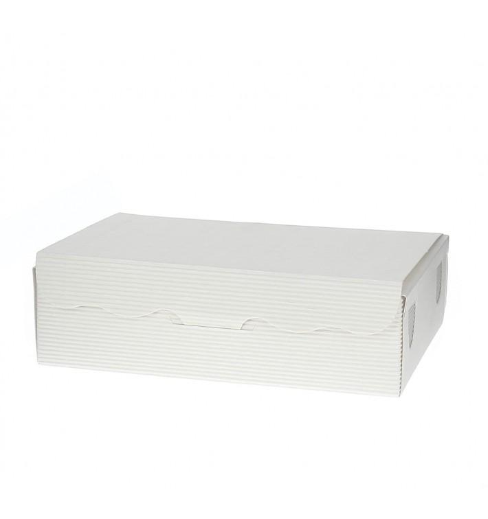 Caja para Dulces y Bombones Blanca 11x6,5x2,5cm 100g (1000 Uds)