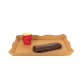 Bandeja Kraft para Catering o Fast Food (200 Uds)