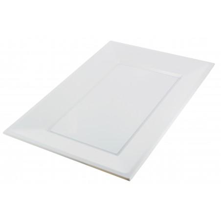 Bandeja de Plastico Blanca 330x225mm (90 Uds)
