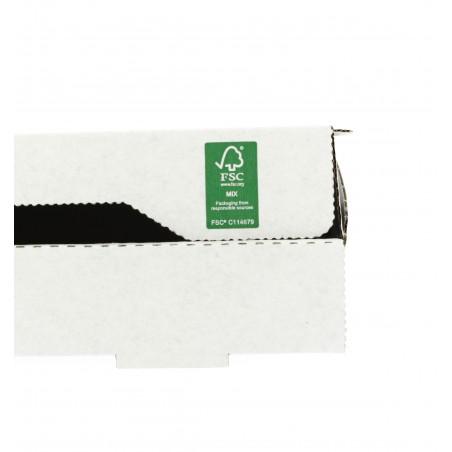 Caja Carton Blanca 33x33x3,5 cm (100 Uds)