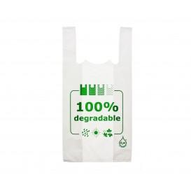 Bolsa Plastico Camiseta 100% Degradable 40x60cm (3000 Uds)