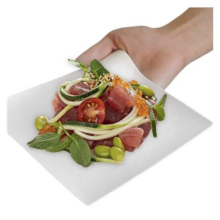 Plato Wasara Biodegradable Kaku XL 246x246x60 mm (100 Uds)