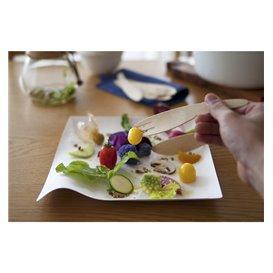 "Plato Wasara Biodegradable Kaku ""S"" 80x80x17 mm (100 Uds)"