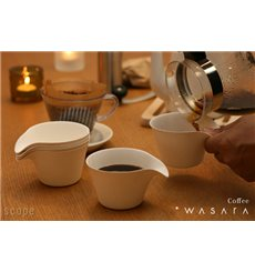 Vaso Wasara Coffee Cup Biodegradable 150 ml (200 Uds)