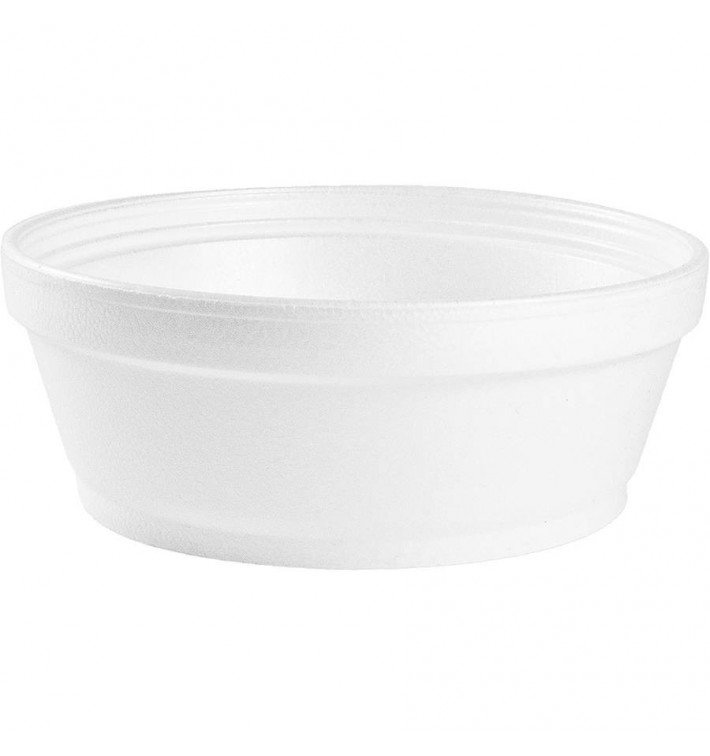 Tarrina Termico Foam Blanco 8OZ/240 ml (1000 Uds)