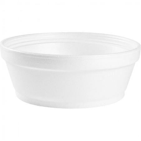 Tarrina Termica Foam Blanco 8Oz/240ml Ø8,9cm (1000 Uds)