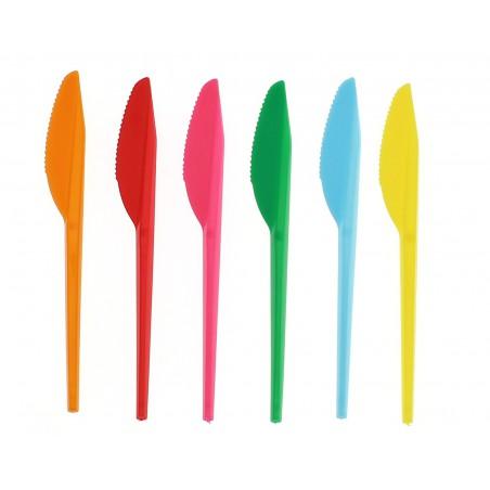 Cuchillo de Plastico PS Amarillo 165 mm (900 Uds)