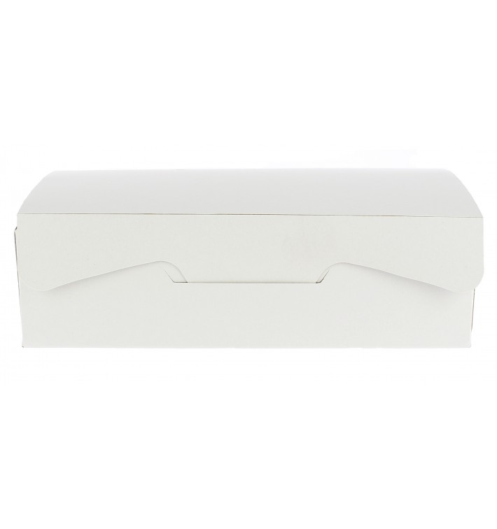 Caja Pasteleria Carton 17,5x11,5x4,7cm 250g Blanca (20 Uds)