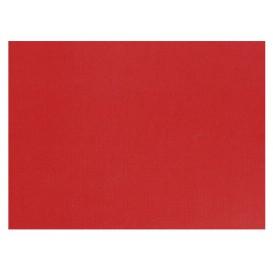 Mantelito de papel 300x400mm 40g Rojo (1.000 Uds)