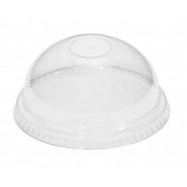 Tapa Cupula PET Cerrada Vaso PET y PLA Ø9,5cm (50 Uds)
