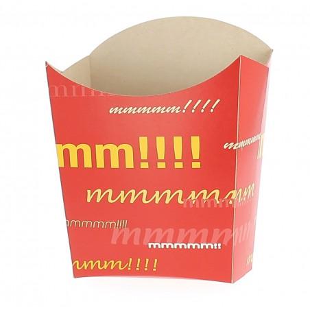 Envase Carton Fritas Pequeñas 8,2x3x1x9cm (50 uds)