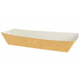Barqueta Kraft Hot Dog 17x5,5x3,8cm (25 Uds)
