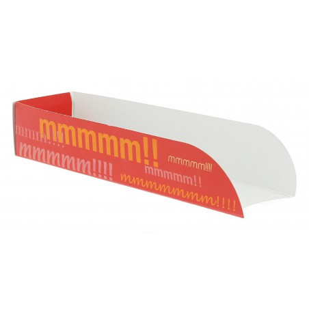 Cuña Cartón Hot Dog 17x5x3,5 (1000 Uds)