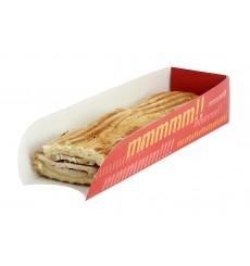 Cuña Cartón Hot Dog 17x5x3,5cm (1000 Uds)