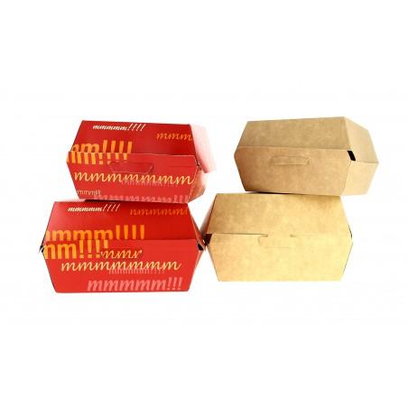 Caja Hamburguesa Cartoncillo 14x13x7,0cm (450 Uds)