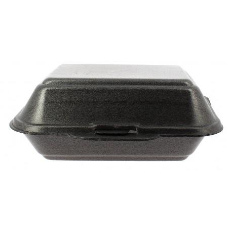 Envase Foam LunchBox Negro 185x155x70mm (500 Uds)