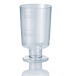 Copa de Plastico de Licor con Pie 40ml (20 Uds)
