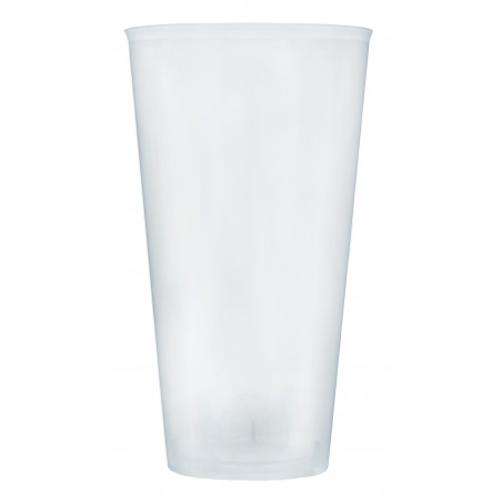 Vaso de Plastico Cocktail 470ml PP Transparente (20 Uds)