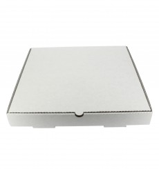 Caja Carton Blanca 30x30x3,5 cm (100 Uds)