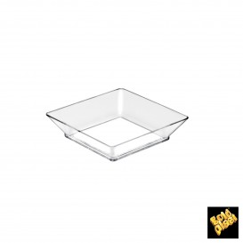 Plato Degustacion Small Plate Transparente 62x62x55 mm (25 Uds)