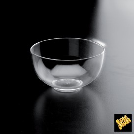 Bol Plato Degustacion Medium Plate Transparente 95 ml (12 Unidades)