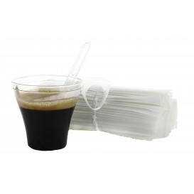 Paletina Enfundada Cafe 105mm Transp. (10.000 Uds)
