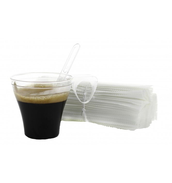 Paletina Enfundada Cafe 105mm Transp. (50 Uds)