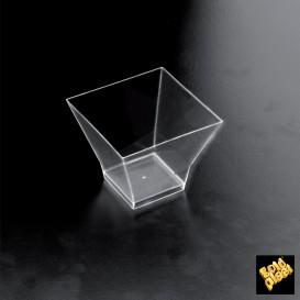 Bol Degustacion Medium Plate Transparente 95 ml (192 Unidades)