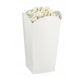 Caja Palomitas Pequeña Blanca 45 gr. 6,5x8,5x15cm (700 Uds)