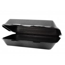 Envase Foam LunchBox Negro 240x155x70mm (125 Uds)