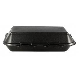 Envase Foam LunchBox Negro 240x155x70mm (125 Uds)