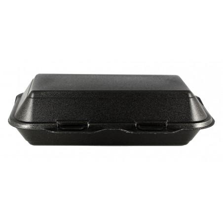 Envase Foam LunchBox Negro 240x155x70mm (500 Uds)
