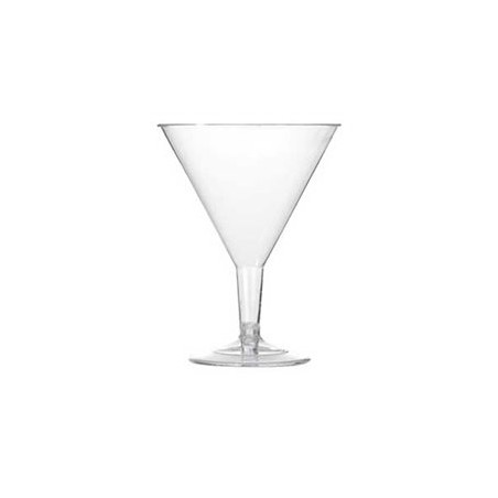 Copa Inyectada Cocktail Transparente PS 215 ml (Paquete 25 Uds)