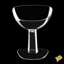 Copa de Plastico Degustación Viva Transparente 55ml (12 Uds)