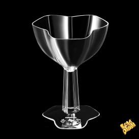 Copa de Plastico Degustación Tribe Transparente 68ml (12 Uds)