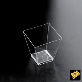 Vaso Degustacion Rombo Transparente 95 ml (500 Unidades)