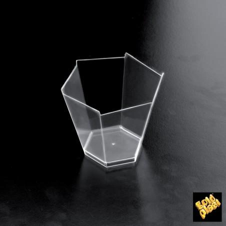 Bol Degustacion Gardenia Transparente 70x60 mm (25 Uds)