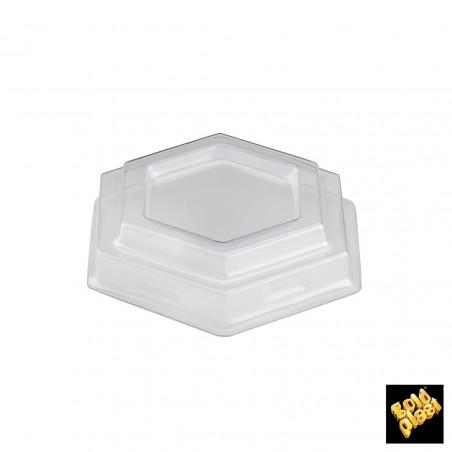 Tapa Bol Gardenia Dessert Transparente PET 7,8 cm (1000 Uds)