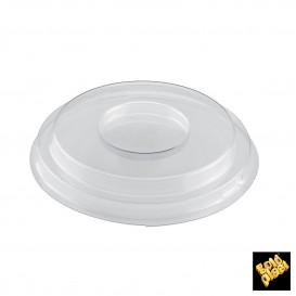 Tapa Bol Small Dessert Transparente PET Ø9 cm (12 Uds)