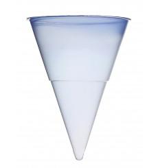 Cono de Plastico PP Azul 115 ml para Agua (1.000 Unidades)