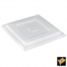 Tapa Bol Pagoda Maxi Transparente PET 13,2 cm (240 Uds)