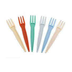 Pincho para Patatas Fritas PS Multicolor 85mm (1000 uds)