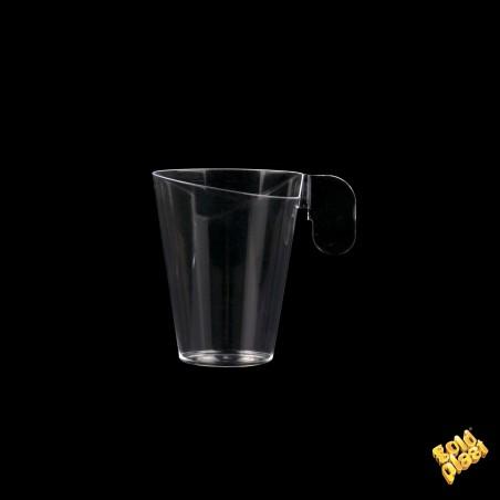Taza de Plastico Degustacion Design Transp. 72ml (240 Uds)